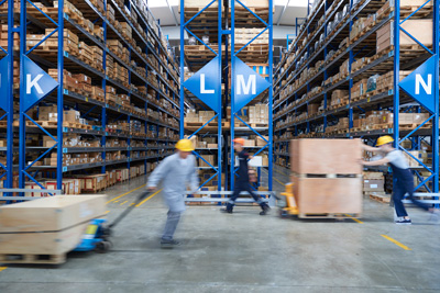 rapid inventory adjustments with e-procurement systems